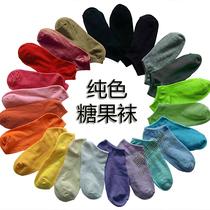糖果袜女袜运动袜卡通袜子非纯棉袜 短袜船袜批发 非男袜 地摊袜 价格:0.60
