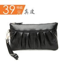 2013新款欧美女手拿包手挽 真皮女包牛皮包手抓包 特价 多色入 价格:39.00