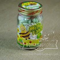 泰国原装进口 BBRED牛奶奶片 蜂蜜柠檬味 100g 宝宝健康营养补钙 价格:14.50