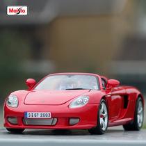 美驰图 保时捷卡雷拉GT 敞蓬跑车 1:18 黑色/红色/银灰色 36665 价格:248.00