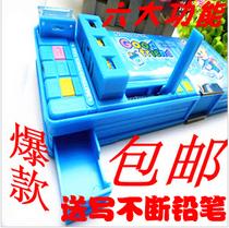 秒杀新款小怪才多功能文具盒铅笔盒韩国 可爱学生用特价 包邮送礼 价格:21.00