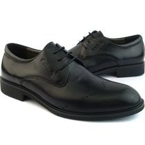 中秋新品皮尔卡丹男鞋专柜正品皮鞋男士商务正装鞋真皮3AAF1610A 价格:688.00