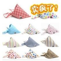 糯米家宝宝婴幼儿儿童用品全棉围兜领巾包头巾口水巾三角巾 价格:2.90