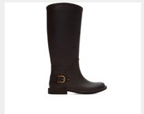 西班牙inditex旗下品牌ZARA黑色马靴 雨鞋 雨靴 亲子装 家庭装 价格:78.00