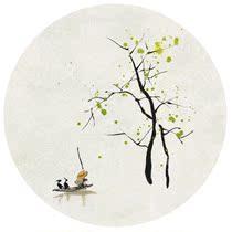 春分—林帝浣|时光映画|原创|限量版画|装饰画|无框画|礼品 价格:219.00
