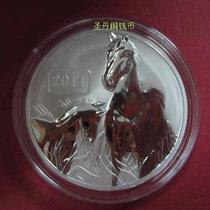 2014年托克劳群岛 马年生肖纪念银币 骏马1盎司银币 5元 价格:260.00