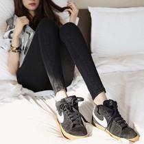 2013秋冬新款显瘦韩国黑色牛仔裤女长裤紧身弹力小脚裤铅笔显瘦潮 价格:75.24