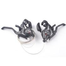 新款禧玛诺EF51-7正品 山地车变速器/带刹车把 连体指拨/联体手拨 价格:79.00