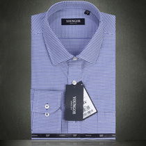 2013秋款 雅戈尔长袖衬衫 男士纯棉免烫商务修身格子长袖衬衣 男 价格:439.00