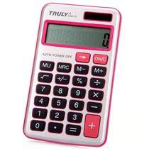 满11包邮信利(TRULY)216A-10 随身携带机型计算器 红色/ 价格:10.00