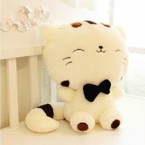 可爱大脸猫公仔饭团猫娃娃 猫咪毛绒玩具招财猫玩偶 生日礼物女生 价格:32.00