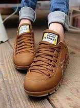 2013春款女单鞋 系带平跟时尚英伦休闲女鞋 防滑韩版跑步鞋 价格:128.00