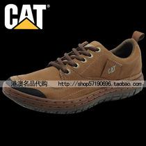 CAT工装男鞋韩版秋卡特休闲鞋潮流真皮透气鞋户外登山鞋英伦皮鞋 价格:419.00
