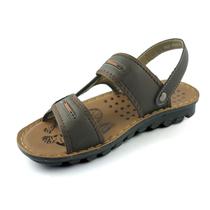 爱她他夏季休闲男士沙滩鞋男皮凉鞋真皮特价凉拖沙滩男潮鞋T1057 价格:59.00