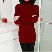 验客VIP针织衫新款 韩版高领百搭针织衫显瘦针织衫 女 套头 秋冬 价格:28.80