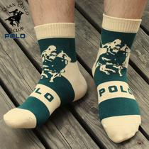 6双包邮 POLO保罗男袜子 男士棉袜运动袜 秋季男人袜中筒袜男短袜 价格:9.60