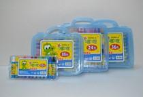 韩国 新嘟哩18色 优质油画棒蜡笔 幼儿安全涂鸦笔 学生绘画材料材 价格:12.50