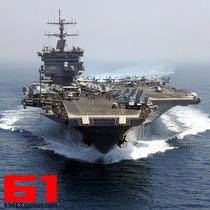 小号手航母模型 1/350美国企业号航空母舰CVN-65长1米带电机80501 价格:180.00