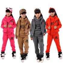 秋款童装男女孩童中性秋冬装2013新款 中大小儿童卫衣三件套装 价格:99.00