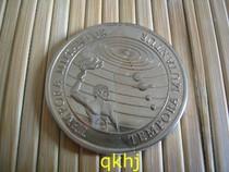 *基里巴斯、西萨摩亚1997年千禧年1元分割币* 价格:200.00
