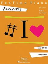 【预订】FunTime Piano, Level 3A-3B, Favorites 价格:88.00