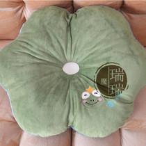 莲藕荷花靠垫荷叶抱枕腰枕坐垫靠垫毛绒玩具创意女生生日礼物包邮 价格:20.00