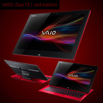 SONY/索尼VAIO Duo 13 Red Edition 13寸Haswell超级本/平板电脑 价格:17500.00