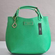 欧美时尚潮牌DKNY糖果色十字纹牛皮单肩手提包专柜正品支持验货! 价格:560.32