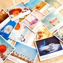 批发价 lomo风格小卡片 小清新宝丽莱明信片贺卡 祝福礼品卡 卡片 价格:0.18