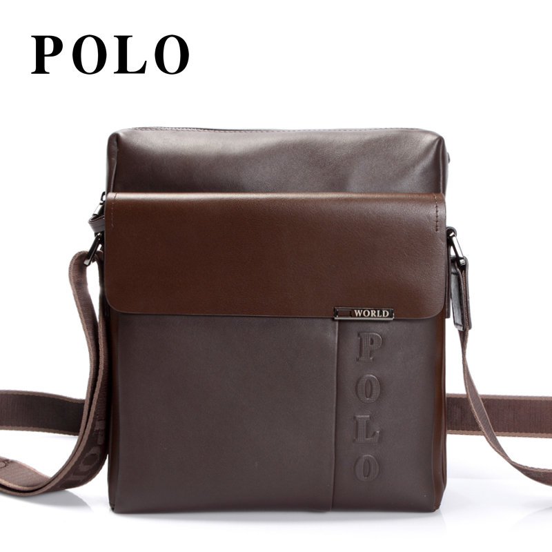 美国POLO 正品 2012新款商务男包 牛皮单肩斜挎包 休闲男士背包 价格:818.00