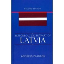 Historical Dictionary of Latvia (Historical Dictio 价格:25.00
