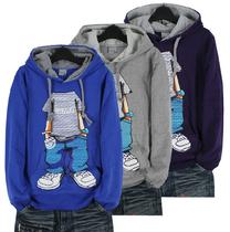 儿童卫衣外套 大童卫衣 男童套头连帽衫 男大童卫衣外套 纯棉帽衫 价格:67.00