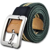 男士帆布皮带 休闲户外军训加厚针扣帆布腰带 青少年时尚裤带  潮 价格:24.90