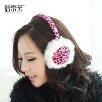 碧索芙 2013秋冬款女耳罩 点点豹纹耳套性感保暖耳捂耳暖护耳套 价格:48.00