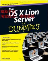 正版书籍\Mac OS X Lion Server For Dummies/John Rizzo\全新 价格:215.80