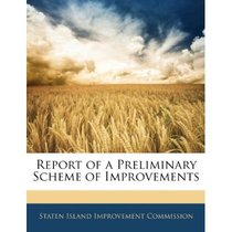 Report of a Preliminary Scheme of Improvements/Island Improv 价格:139.68