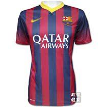 极品泰版2013巴萨主场足球服训练服 巴塞罗那球员版10号messi球衣 价格:55.00