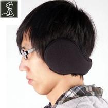 艄公长毛绒保暖运动耳套 可折叠后戴式耳包罩男 女摇粒绒二件包邮 价格:35.00