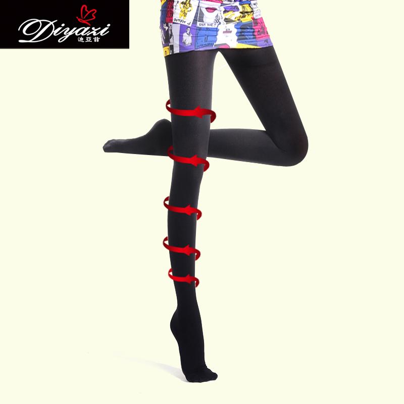 买一送一 迪亚兹瘦腿袜 正品燃脂680D秋冬瘦腿连裤袜打底丝袜子女 价格:29.00