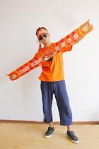 限量版山东鲁能球迷围巾文化衫勒夫款经典版新款头巾口罩包邮 价格:35.00