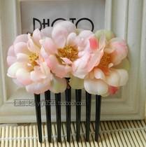 特价不包邮 度假发型造型蔷薇少女插梳盘发发饰发梳新娘头饰发箍 价格:14.90