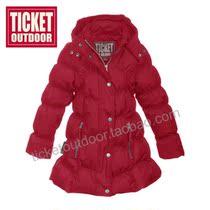 正品Ticket Outdoor专业户外女童大衣莫妮卡款秋冬滑雪防风保暖 价格:1499.00