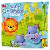 美国SoftPlay 原装正版 费雪多触感立体大布书 认识动物和数字 价格:38.00