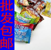 喜糖批发特价阿尔卑斯特制纯真高级牛奶糖混合口味散装糖果500g 价格:13.60