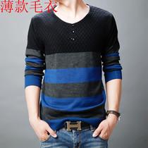 美特斯邦威新款秋装t恤男士修身韩版圆领男装时尚拼色长袖T恤潮牌 价格:65.00