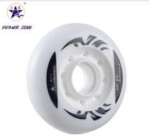 力星正品 进口高弹耐磨 轮滑鞋轮子 专业平花轮 轮滑配件 针孔轮 价格:20.00