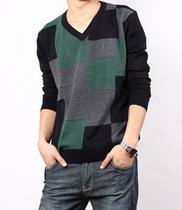 2013秋装新款杰克拼色琼斯长袖t恤卡宾正品修身海澜男装之家体恤 价格:48.55