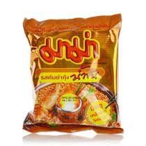 泰国进口食品  泰国妈妈牌 方便面 泰式冬阴浓汤虾味 泡面 55克 价格:4.29