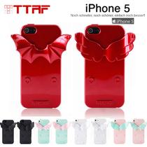 正品TTAF  Stre-it天使魔鬼苹果iphone5 5S恶魔之翼支架保护外壳 价格:130.00