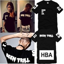 男女Hood By Air HBA X Been Trill Kanye West 陈冠希tee短袖T恤 价格:28.38